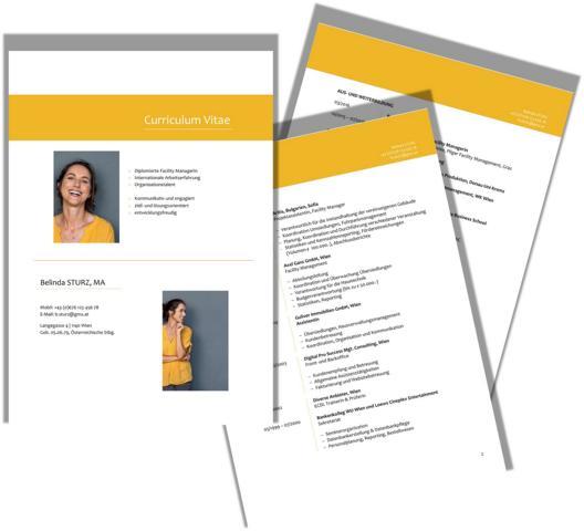 die Businesscoach Lebenslauf (CV) & Co
